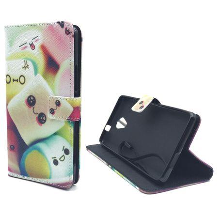 Handyhülle Tasche für Handy Wiko Robby  Schriftzug Marshmallows – Bild 5