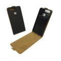 Handyhülle Tasche für Handy Huawei P9 Schwarz 001