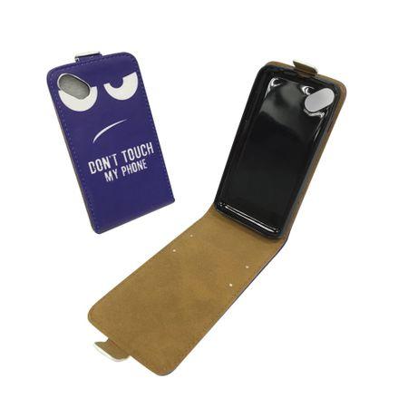 Handyhülle Tasche für Handy Wiko Sunny Dont Touch my Phone – Bild 1