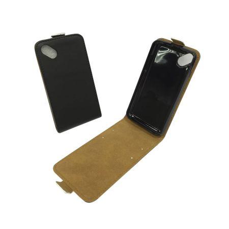 Handyhülle Tasche für Handy Wiko Sunny Schwarz