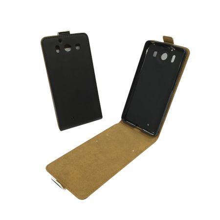 Handyhülle Tasche für Handy Microsoft Lumia 950 Schwarz – Bild 1