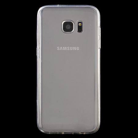 Crystal Case Hülle für Samsung Galaxy S7 Edge Transparent Full Body – Bild 2