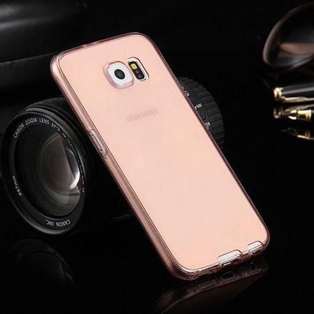 Crystal Case Hülle für Samsung Galaxy A9 Pink Rahmen Full Body – Bild 2
