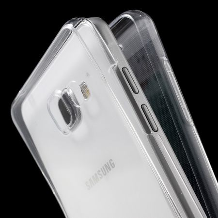 Crystal Case Hülle für Samsung Galaxy A7 2016 Transparent Full Body – Bild 7