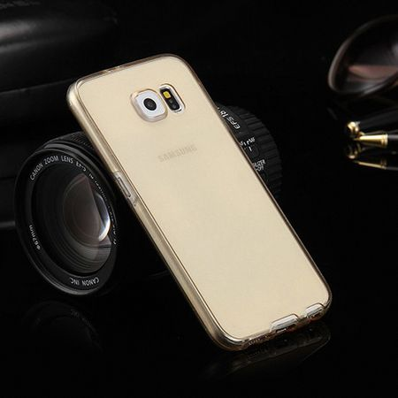 Crystal Case Hülle für Asus Zenfone Go Gold Rahmen Full Body – Bild 7