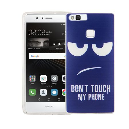 Dont Touch My Phone Handyhülle Huawei P9 Silikon – Bild 1