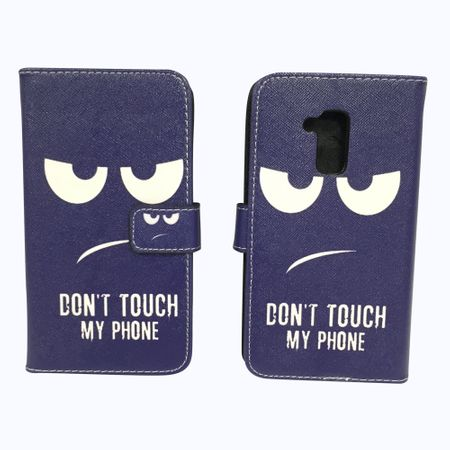 Dont Touch My Phone Handyhülle Huawei Honor 5c Klapphülle Wallet Case – Bild 4