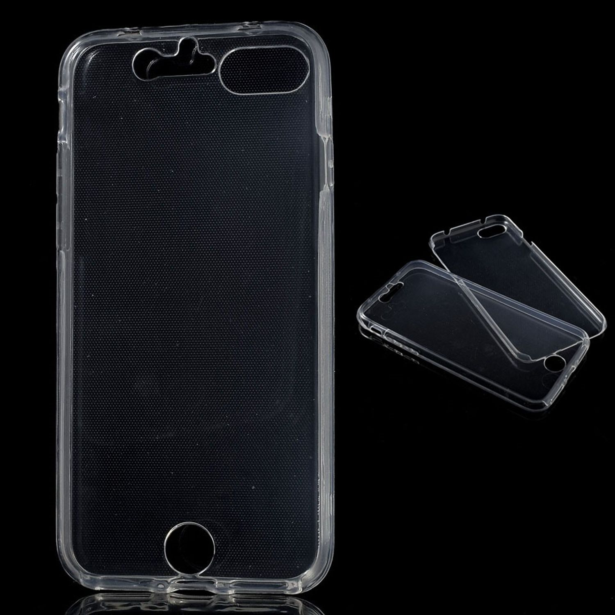 crystal case h lle f r apple iphone 7 transparent full body. Black Bedroom Furniture Sets. Home Design Ideas