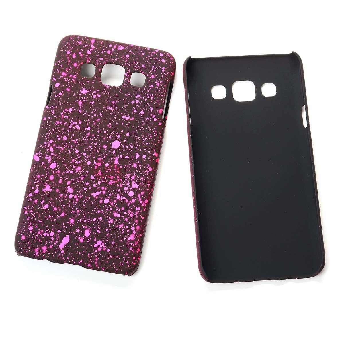 handy h lle schutz case bumper schale f r samsung galaxy a3 2015 3d sterne pink. Black Bedroom Furniture Sets. Home Design Ideas