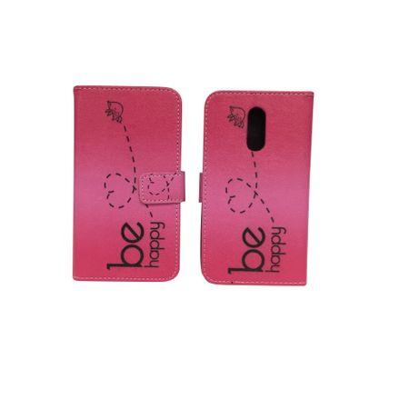 Handyhülle Tasche für Handy Xiaomi Redmi Pro Be Happy Pink – Bild 2