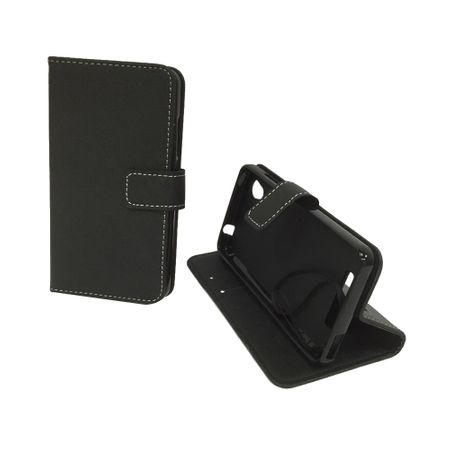 Handyhülle Tasche für Handy ZTE Blade A452 Schwarz