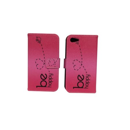 Handyhülle Tasche für Handy Lenovo ZUK Z2 Be Happy Pink – Bild 6