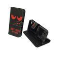 Handyhülle Tasche für Handy Lenovo ZUK Z2 Dont Touch My Phone Rot 001
