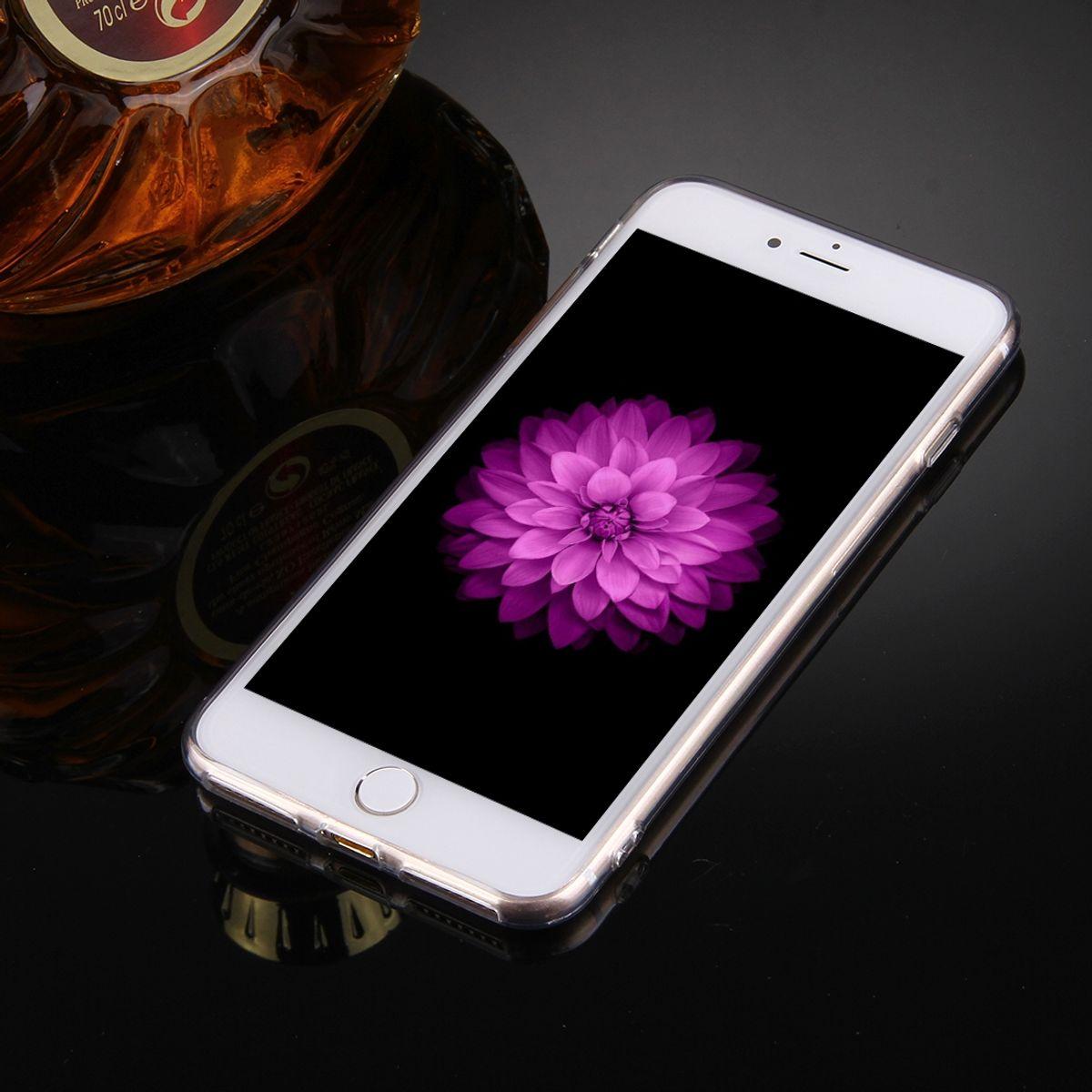 apple iphone 7 plus handy h lle spiegel mirror soft case. Black Bedroom Furniture Sets. Home Design Ideas