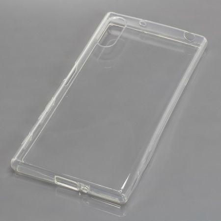 OTB TPU Case Handy Hülle Schutz Etui Bumper für Handy Sony Xperia XZ Transparent
