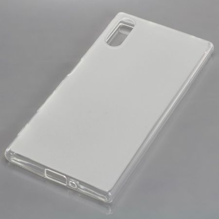 OTB TPU Case Handy Hülle Etui Schutz Bumper für Handy Sony Xperia XZ Transparent