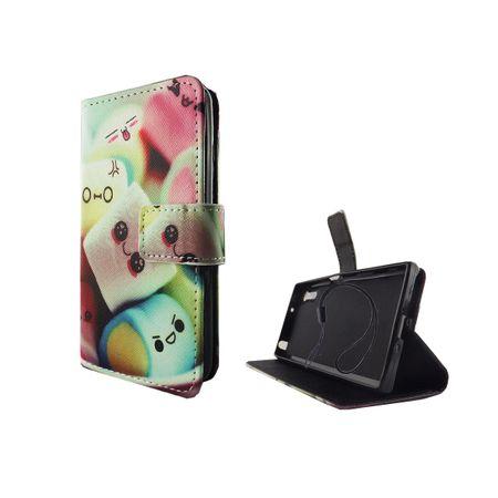 Handyhülle Tasche für Handy Sony Xperia XZ Schriftzug Marshmallows – Bild 2