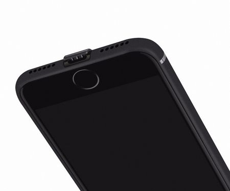 Apple iPhone 6 Plus / 6s Plus Handyhülle Bumper Case Schwarz Silikon Hülle – Bild 3