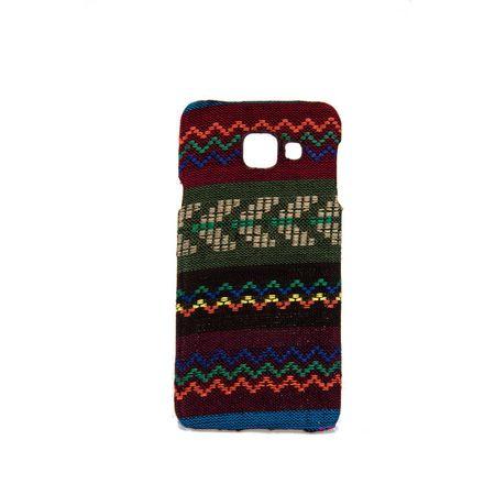Handyhülle aus Stoff-Case für Samsung Galaxy A3 2016 Cover Etuis Bumper Braun