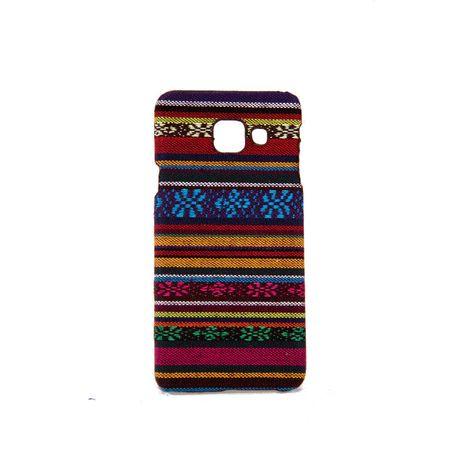 Handyhülle aus Stoff-Case für Samsung Galaxy A3 2016 Cover Etuis Bumper Orange