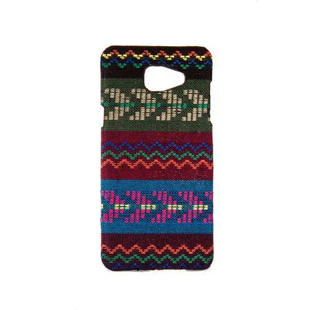 Handyhülle aus Stoff-Case für Samsung Galaxy A5 2016 Cover Etuis Bumper Braun