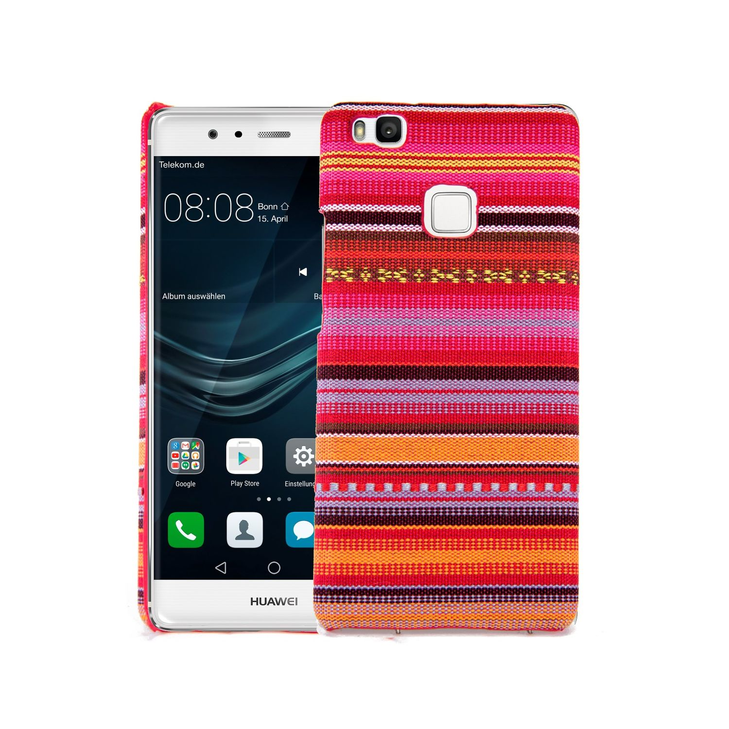 Cover From Stoff-Case For Huawei P9 Lite Cover Cases Bumper Cover ...