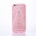 Handy Hülle Mandala für Samsung Galaxy S7 Edge Design Case Schutzhülle Motiv Blume Cover Tasche Bumper Rosa 001