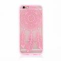 Handy Hülle Mandala für Samsung Galaxy S7 Edge Design Case Schutzhülle Motiv Traumfänger Cover Tasche Bumper Rosa 001
