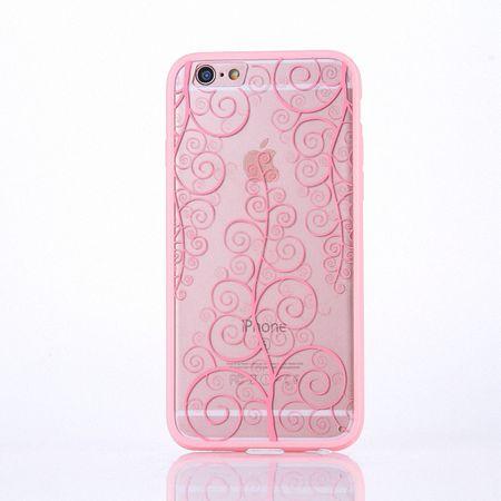 Handy Hülle Mandala für Samsung Galaxy J3 2016 Design Case Schutzhülle Motiv Blume Cover Tasche Bumper Rosa