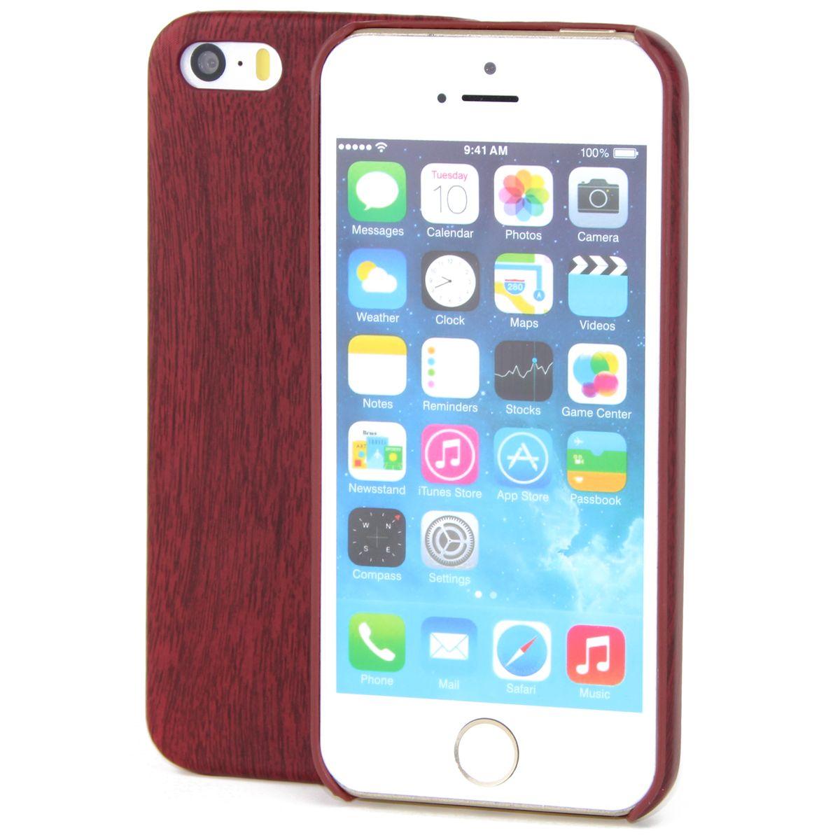 apple iphone 5 5s se tpu handy h lle holz optik schutz. Black Bedroom Furniture Sets. Home Design Ideas