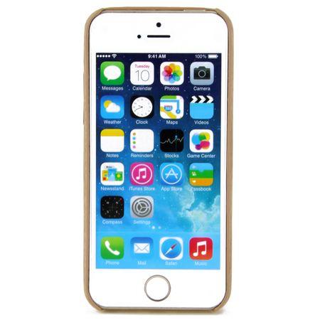 Apple iPhone 7 TPU Handy Hülle Holz Optik Schutz Case Bambus Cover – Bild 3