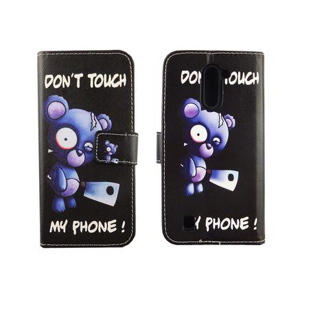 Handyhülle Tasche für Handy Archos 50c Neon Bär mit Beil