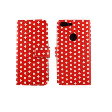 Handyhülle Tasche für Handy Google Pixel XL Polka Dot Rot – Bild 3