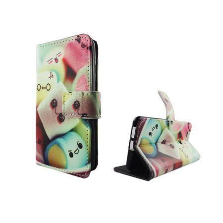 Handyhülle Tasche für Handy Huawei Nova Schriftzug Marshmallows
