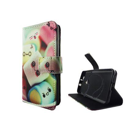 Handyhülle Tasche für Handy Huawei Nova Schriftzug Marshmallows – Bild 5