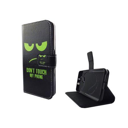 Dont Touch My Phone Handyhülle Huawei Nova Klapphülle Wallet Case – Bild 2