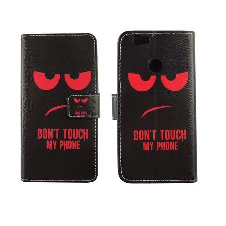 Dont Touch My Phone Handyhülle Huawei Nova Klapphülle Wallet Case – Bild 1