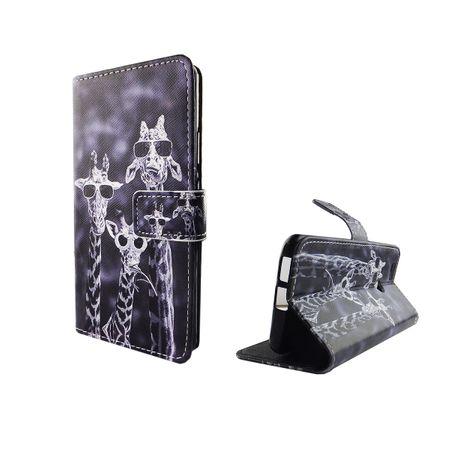 Handyhülle Tasche für Handy Huawei Nova 3 Giraffen