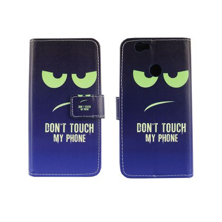 Dont Touch My Phone Handyhülle Huawei Nova Klapphülle Wallet Case