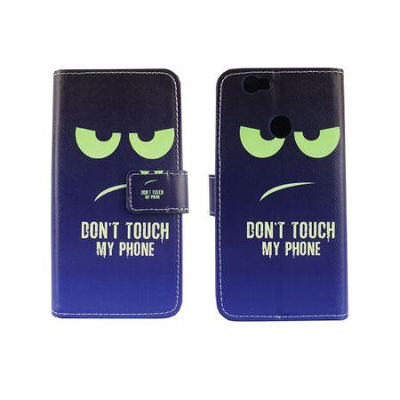 Dont Touch My Phone Handyhülle Huawei Nova Klapphülle Wallet Case – Bild 3
