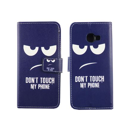 Handyhülle Tasche für Handy Samsung Galaxy A3 2017 Dont Touch my Phone