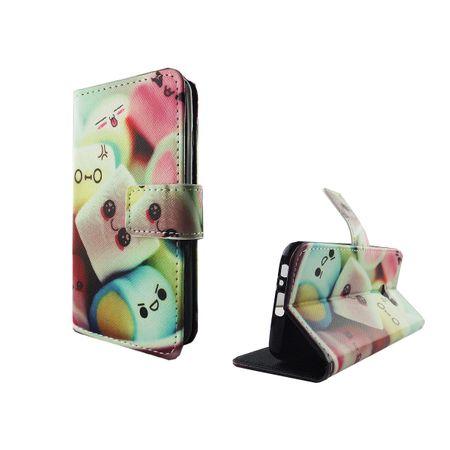 Handyhülle Tasche für Handy Samsung Galaxy A5 2017 Schriftzug Marshmallows