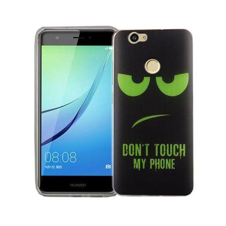 Dont Touch My Phone Handyhülle Huawei Nova Silikon – Bild 2