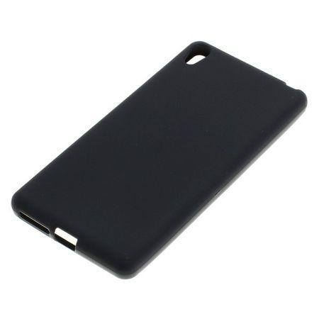 Handyhülle TPU Case für Handy Sony Xperia E5 Schwarz