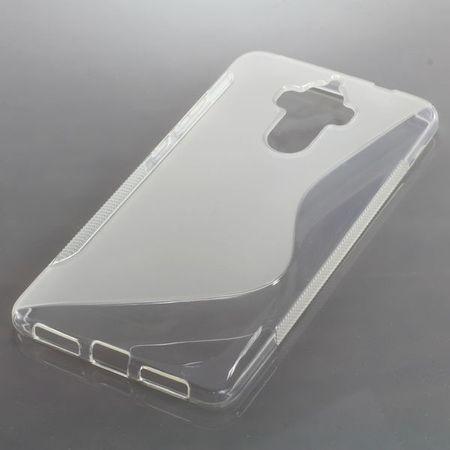 Handy Hülle TPU S-Line Schutz Case Bumper Schale für Huawei Mate 9 Transparent Neu – Bild 2