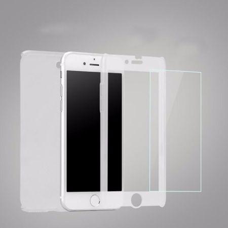 Apple iPhone 5 / 5s Handy-Hülle Schutz-Case Panzer Schutz Glas Transparent Matt – Bild 1