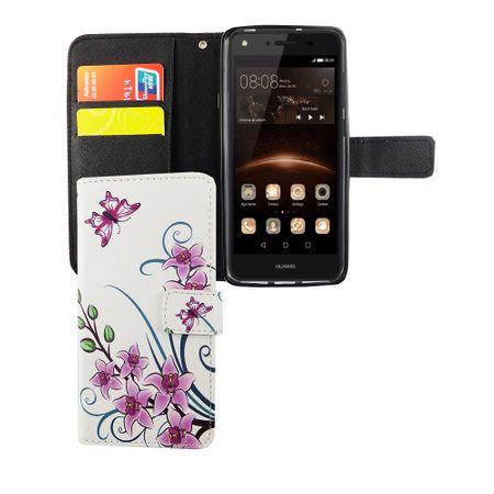 Handyhülle Tasche für Handy Huawei Y5 II / 2 Lotusblume – Bild 5