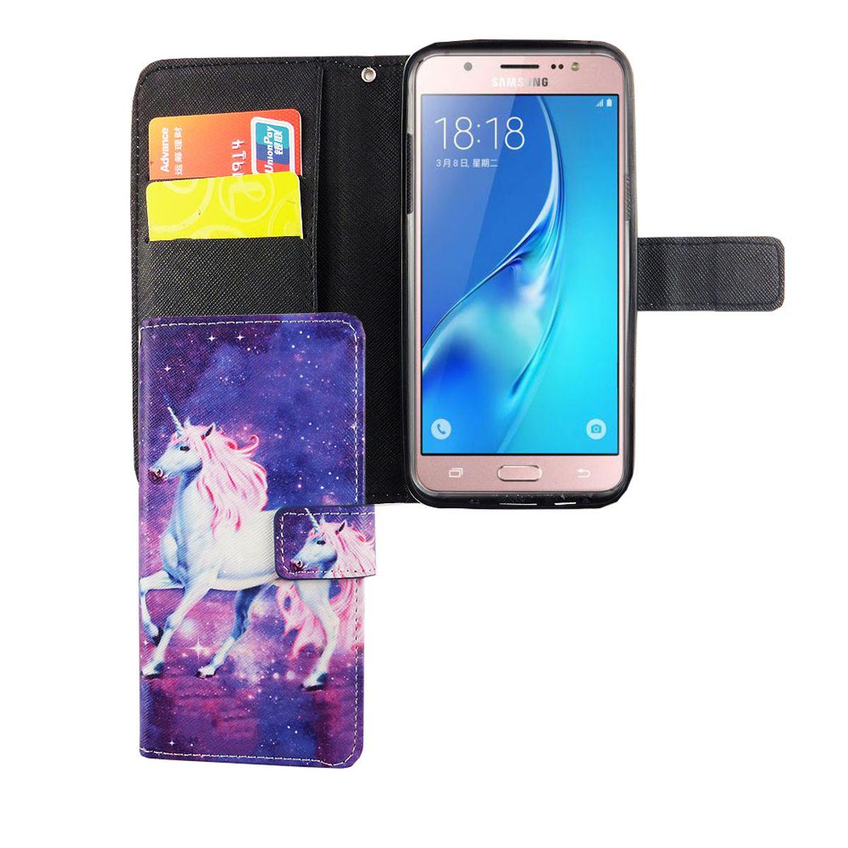 Handyhülle Samsung Galaxy : handyh lle tasche f r handy samsung galaxy j5 2015 einhorn magic ~ Aude.kayakingforconservation.com Haus und Dekorationen