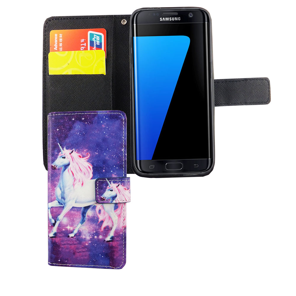 protective cover for mobile phone samsung galaxy s7 unicorn magic pouch case ebay. Black Bedroom Furniture Sets. Home Design Ideas