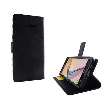 Handyhülle Tasche für Handy Samsung Galaxy J5 Prime Schwarz – Bild 4